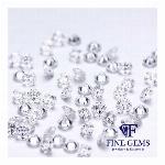 天然ダイヤモンド メレ 10ピース 0.2ct