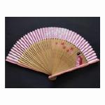 【扇子】扇子ケース 金蘭桜柄 女性用