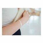 925シルバー ブレスレット アレルギー防止 ハンドメイド ブレスレット ハンドメイド アクセサリーパーツ