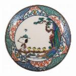 九谷焼 豆皿(山水)