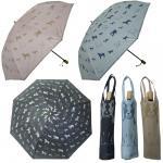 ネコ柄 雨晴兼用ジャンプ傘