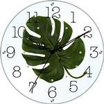 アートフラワークロック 掛け時計 イエロー【日本製】