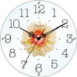 アートフラワークロック 掛け時計 ピンク【日本製】