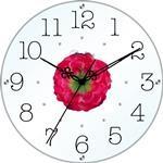 アートフラワークロック 掛け時計デルフィニュウム