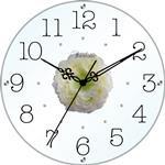 アートフラワークロック 掛け時計 モンステラ 【日本製】