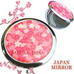 JAPAN土産コンパクトミラー★桜