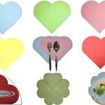 ハートナプキン(LOVE・LOVE HEART NAPKIN) 15枚入り