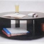 丸型ローテーブル